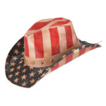 Goldcoast Hats Old Glory Patriotic Western Cowboy Hat