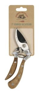 Joseph Bentley Garden Hand Tools - 7-inch CS Shaped Secateurs