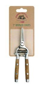 Joseph Bentley Garden Hand Tools - 7-inch Bypass Snips