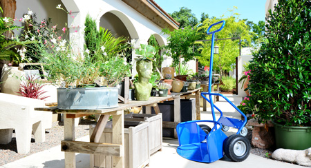 Enjoy the benefits of the Potwheelz plant hand truck