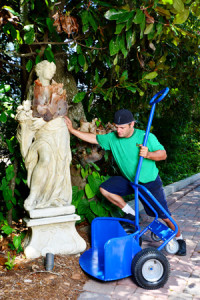 Heavy artwork and statuary hand truck