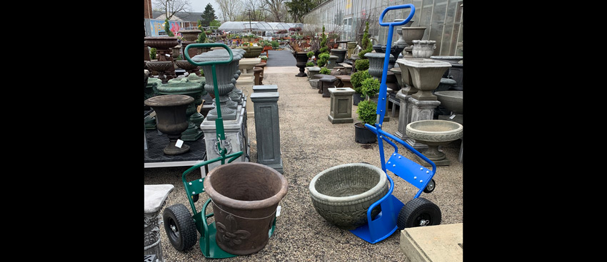PotWheelz plant dolly - a great tool for garden centers and gardeners!