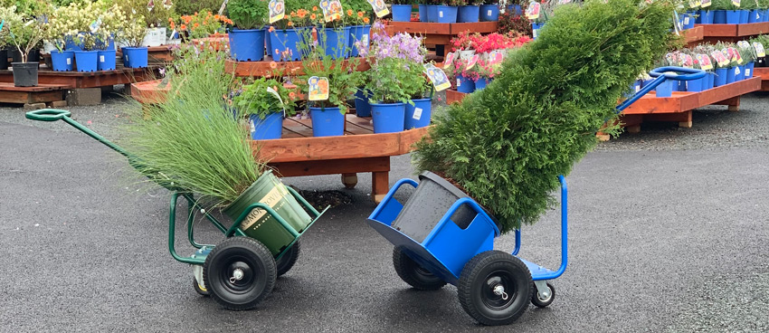 PotWheelz plant dolly comes in both large and small sizes