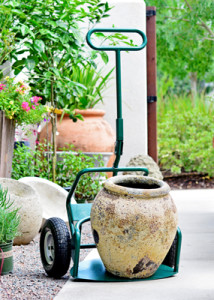 Potwheelz garden dolly potted plant mover