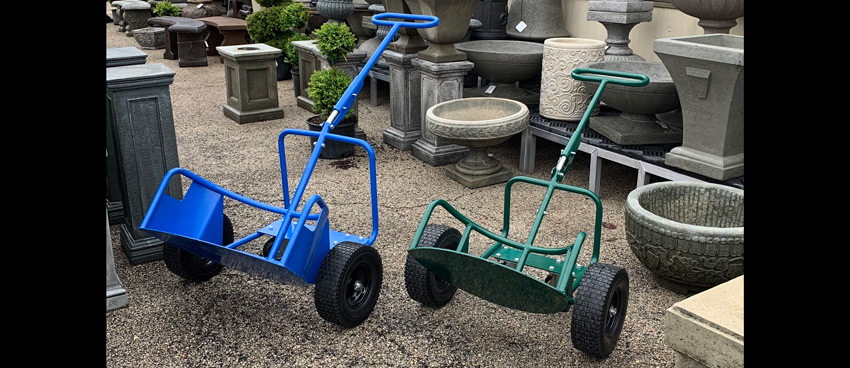 PotWheelz plant dolly is easy to use and move large items with!